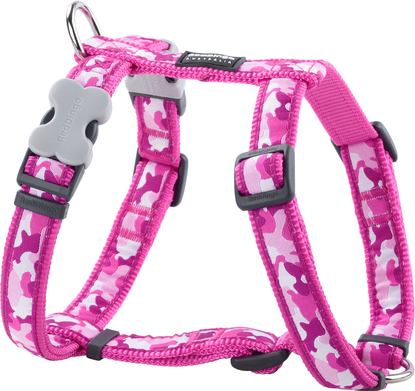 Red Dingo Camouflage Dog Harness Harness Dog- Jurassic Bark Pet Store Littleport Ely Cambridge