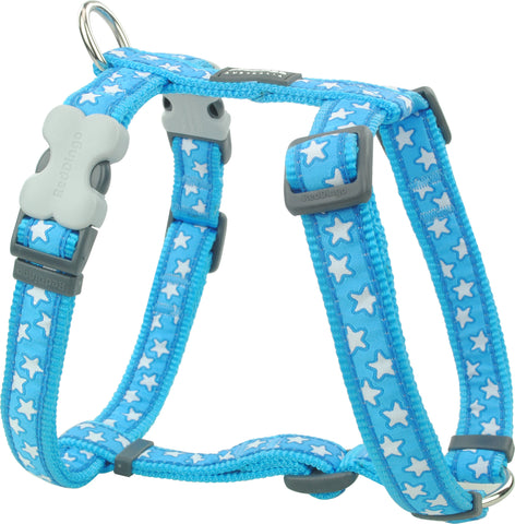 Red Dingo Stars Dog Harness Harness Dog- Jurassic Bark Pet Store Littleport Ely Cambridge