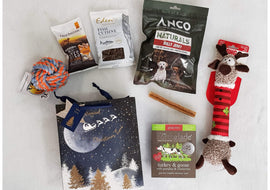 Deluxe Christmas Gift Bag for Dogs