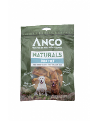 Anco Naturals Duck Feet 100g Dog- Jurassic Bark Pet Store Littleport Ely Cambridge