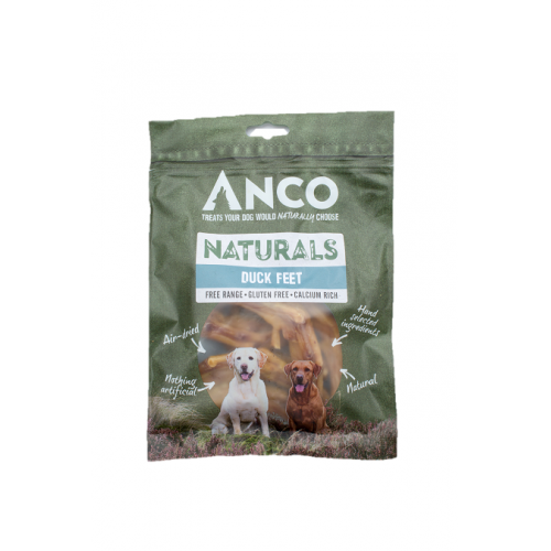 Anco Naturals Duck Feet Dog Treats- Jurassic Bark Pet Store Littleport Ely Cambridge