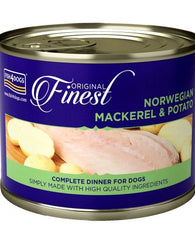 Fish 4 Dogs Finest Norwegian Mackerel & Potato dog food wet- Jurassic Bark Pet Store Littleport Ely Cambridge