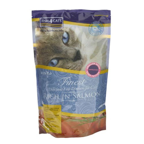Fish4Cats Finest Adult Salmon Cat Food Dry- Jurassic Bark Pet Store Littleport Ely Cambridge