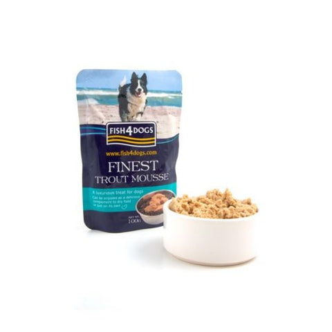 Fish 4 Dogs Trout Mousse Dog Treats- Jurassic Bark Pet Store Littleport Ely Cambridge