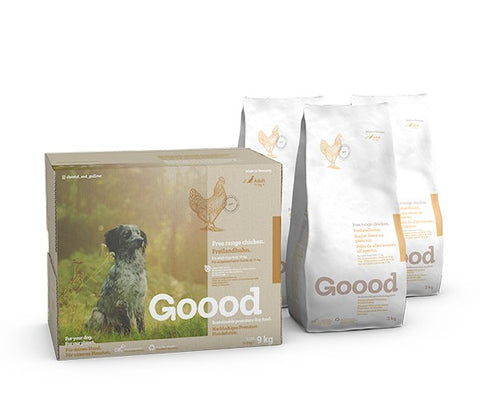 Goood Adult Free Range Chicken Dog Food Dry- Jurassic Bark Pet Store Littleport Ely Cambridge