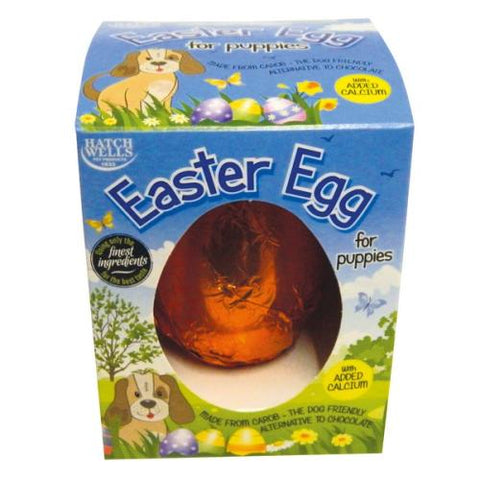 Hatchwell Carob Easter Egg for Puppies 40g