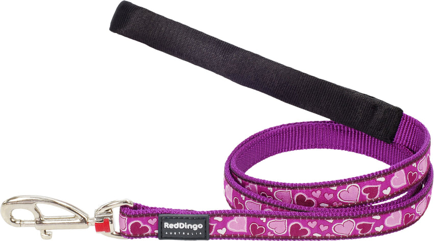 Red Dingo Breezy Love Dog Lead Lead Dog- Jurassic Bark Pet Store Littleport Ely Cambridge