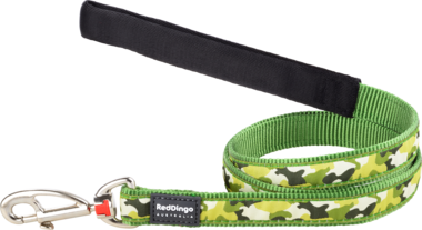 Red Dingo Camouflage Dog Lead - Jurassic Bark Pet Store Littleport Ely Cambridge