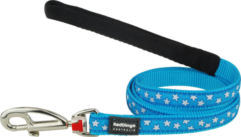Red Dingo Star Dog Lead Dog Lead- Jurassic Bark Pet Store Littleport Ely Cambridge