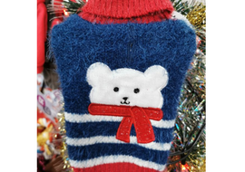 Polar Bear Mohair Feel Christmas Jumper