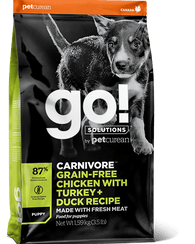 Go! Solutions - Chicken, Turkey and Duck Recipe Puppy Food - Jurassic Bark Pet Store Littleport Ely Cambridge