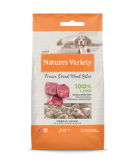 Natures Variety Freeze Dried Meat Bites Lamb 20g