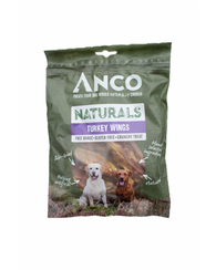 Anco Naturals Turkey Wings 6 pack Dog- Jurassic Bark Pet Store Littleport Ely Cambridge