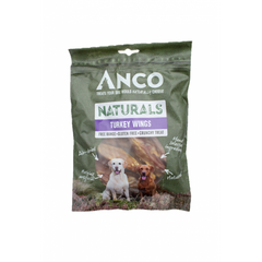 Anco Naturals Turkey Wings - Jurassic Bark Pet Store Littleport Ely Cambridge