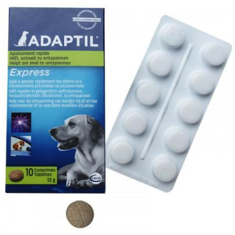 Adaptil Calming & Comfort Tablets for Dogs Calming- Jurassic Bark Pet Store Littleport Ely Cambridge