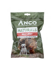 Anco Naturals Bully Jerky 100g Dog- Jurassic Bark Pet Store Littleport Ely Cambridge