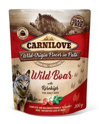 Carnilove Dog Pouch Wild Boar With Rosehips 300g