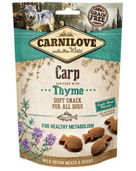 Carnilove Carp with Thyme Dog Treat 200g Dog Treats- Jurassic Bark Pet Store Littleport Ely Cambridge