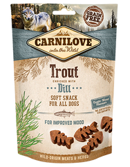 CARNILOVE Dog Treats Trout With Dill 200g Dog Treats- Jurassic Bark Pet Store Littleport Ely Cambridge