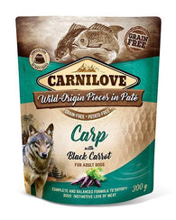 Carnilove Dog Pouch Carp With Black Carrot 300g