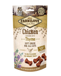 Carnilove Chicken with Thyme Cat Treat 50g Cat Treats- Jurassic Bark Pet Store Littleport Ely Cambridge