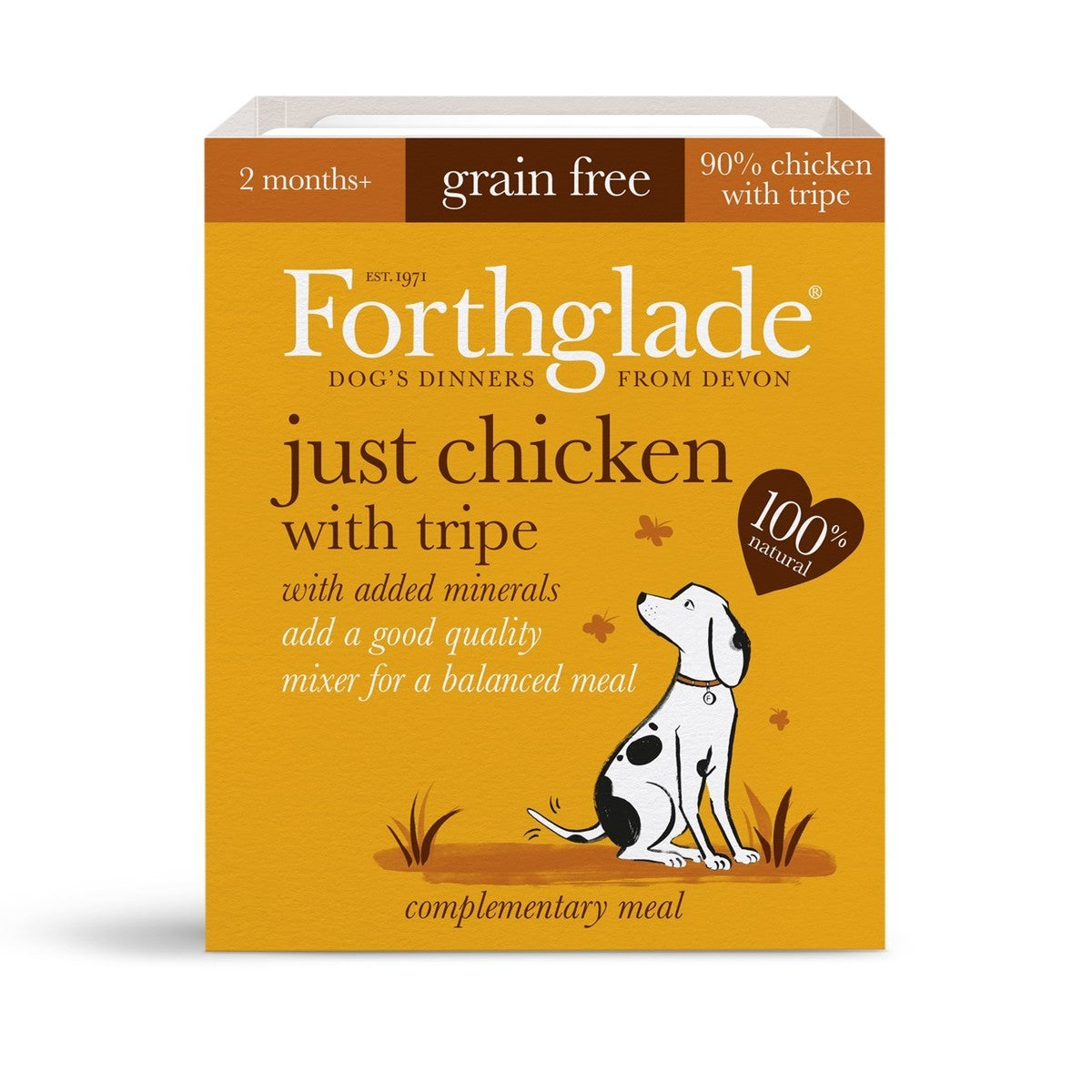 Buy Forthglade Just Chicken with Tripe (395g)
