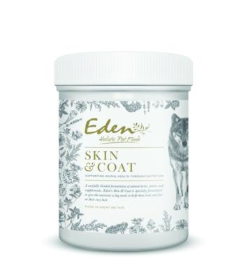 Eden Skin and Coat Supplement for dogs Supp- Jurassic Bark Pet Store Littleport Ely Cambridge