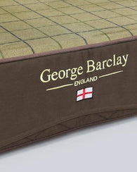 George Barclay Country Dog Mattress, Chestnut Brown - Medium