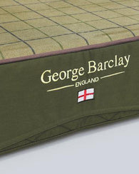 George Barclay Country Dog Mattress, Olive Green - Large