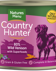 Natures Menu Country Hunter Wild Venison With Superfoods 600g