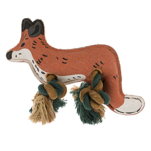 Sophie Allport Foxes Dog Toy Dog Toy- Jurassic Bark Pet Store Littleport Ely Cambridge