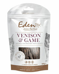 Eden Venison & Game Treat 100g Dog- Jurassic Bark Pet Store Littleport Ely Cambridge