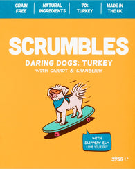 Scrumbles Turkey with Carrot & Cranberry dog foo- Jurassic Bark Pet Store Littleport Ely Cambridge