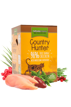 Country Hunter Cat Food Pouch Free Range Chicken 6 pack Cat Food Wet- Jurassic Bark Pet Store Littleport Ely Cambridge
