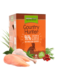 Country Hunter Cat Food Pouch Chicken & Goose 6 pack Cat Food Wet- Jurassic Bark Pet Store Littleport Ely Cambridge
