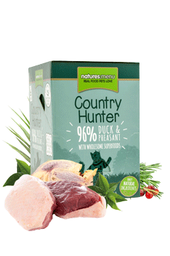 Country Hunter Cat Food Pouch Duck & Pheasant - Jurassic Bark Pet Store Littleport Ely Cambridge