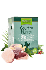 Country Hunter Cat Food Pouch Duck & Pheasant Pack of 6 Cat Food Wet- Jurassic Bark Pet Store Littleport Ely Cambridge