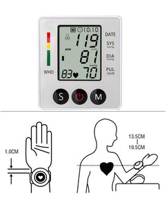Electronic Blood Pressure Monitor- ZK-W862YD