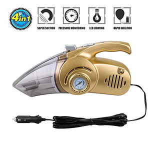 4 in 1Wet/Dry Multifunctional Car Vacuum Cleaner