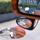 360 Wide Angle Car  Double Blind Spot Mirror