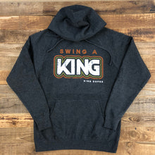 Load image into Gallery viewer, UNISEX Swing a King Hoodie - Carbon