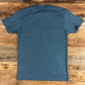 Men's Fast is Smooth Tee - Indigo