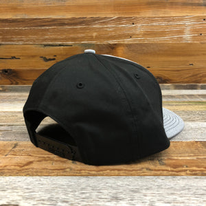 KING ROPER Patch Twill Hat - Heather Grey/Black