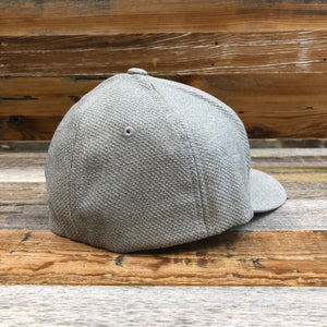 KING ROPER Patch Hat - Light Heather Grey