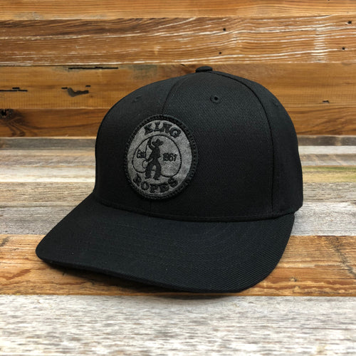 KING ROPER Patch Umpire Hat - Black