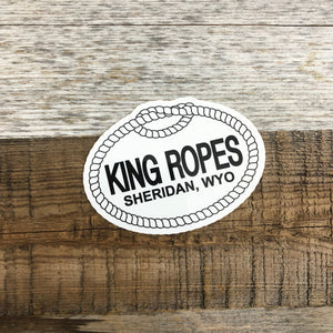 King Ropes Sticker