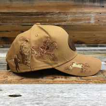 Load image into Gallery viewer, KR Leather Patch Trucker Hat - Dri Duck Team Roper