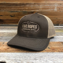 Load image into Gallery viewer, Original King Ropes Trucker Hat - Brown/Khaki
