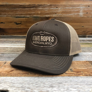 Original King Ropes Trucker Hat - Brown/Khaki