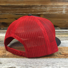 Load image into Gallery viewer, Original King Ropes Trucker Hat - Charcoal/Red
